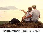 couple enjoying the company of...   Shutterstock . vector #1012512760