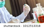 chemistry laboratory experts in ... | Shutterstock . vector #1012513318