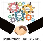 flat design illustration...   Shutterstock . vector #1012517434