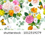 Seamless Pattern With Tender...