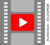 strip the film. vector pattern. ...   Shutterstock .eps vector #1012529668