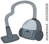 vector of vacuum cleaner | Shutterstock .eps vector #1012532818