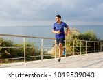full length portrait of healthy ... | Shutterstock . vector #1012539043