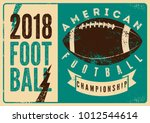american football typographical ... | Shutterstock .eps vector #1012544614