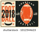 american football typographical ... | Shutterstock .eps vector #1012544623