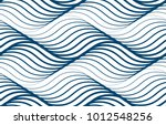 water waves seamless pattern ... | Shutterstock .eps vector #1012548256