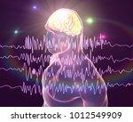epilepsy awareness concept.... | Shutterstock . vector #1012549909
