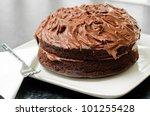Home Made Whole Chocolate Cake...