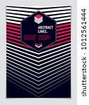 design template for flyer ...   Shutterstock .eps vector #1012561444