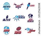 set of journalism conceptual...