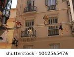 malaga  andalusia  spain  ...   Shutterstock . vector #1012565476