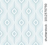 simple stylish geometric... | Shutterstock . vector #1012570750