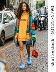 milan  italy   september 23 ... | Shutterstock . vector #1012575790
