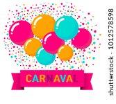 popular event brazil carnival... | Shutterstock .eps vector #1012578598