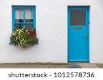 house in portmagee  ireland | Shutterstock . vector #1012578736