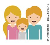 half body people with woman... | Shutterstock .eps vector #1012584148