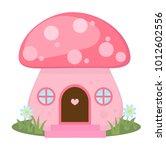mushroom house icon  cartoon...   Shutterstock .eps vector #1012602556