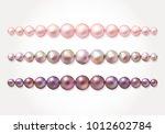 graded pearl border frame.... | Shutterstock .eps vector #1012602784