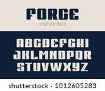 sport font. vector alphabet... | Shutterstock .eps vector #1012605283