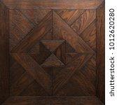 parquet from old oak  mosaic ... | Shutterstock . vector #1012620280