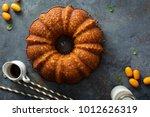 Winter Citrus Pound Bundt Cake...