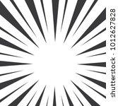 black and white pop art... | Shutterstock .eps vector #1012627828