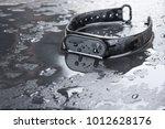 fitness bracelet  fitness... | Shutterstock . vector #1012628176