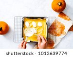 overhead of in process step... | Shutterstock . vector #1012639774