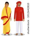 set of standing together indian ...   Shutterstock .eps vector #1012642810