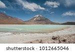 laguna verde is a highly...   Shutterstock . vector #1012665046