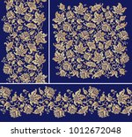 Seamless Floral Borders And...