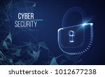 coputer internet cyber security ... | Shutterstock .eps vector #1012677238