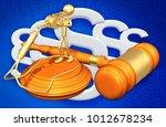 whistle blower legal concept 3d ... | Shutterstock . vector #1012678234