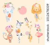 Safari Baby Animals Collection...