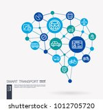 ai creative think system... | Shutterstock .eps vector #1012705720