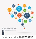 ai creative think system... | Shutterstock .eps vector #1012705753
