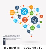 ai creative think system... | Shutterstock .eps vector #1012705756