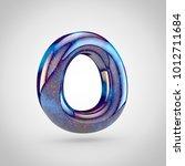 galaxy letter o uppercase. 3d... | Shutterstock . vector #1012711684