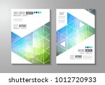 brochure template  flyer design ... | Shutterstock .eps vector #1012720933