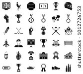coin icons set. simple set of... | Shutterstock .eps vector #1012726753