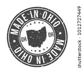 made in ohio state usa quality... | Shutterstock .eps vector #1012727449
