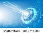vector communication concept... | Shutterstock .eps vector #1012745680