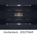 hi tech metallic background... | Shutterstock .eps vector #101275669