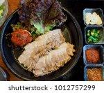 Kimchi And Pork  Napa Wraps...