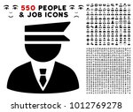 police officer pictograph with... | Shutterstock .eps vector #1012769278