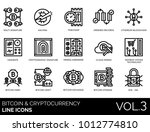 multi cryptographic signature ... | Shutterstock .eps vector #1012774810