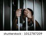 hands of men desperate to catch ... | Shutterstock . vector #1012787209