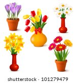 spring and summer colorful... | Shutterstock .eps vector #101279479