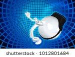 the original 3d character... | Shutterstock . vector #1012801684