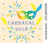 popular event brazil carnival...   Shutterstock .eps vector #1012803658